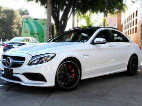 Mercedes Benz//c63 Amg// 2017 Seminuevo!! V8 6.3 476 Hp Navi