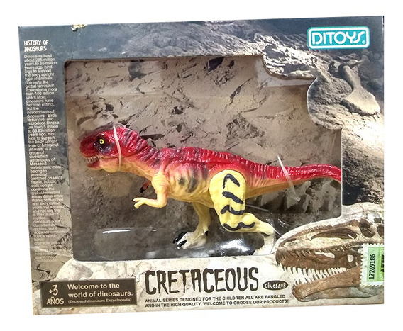 Cretaceous Dinosaurios 14 Cm T-rex