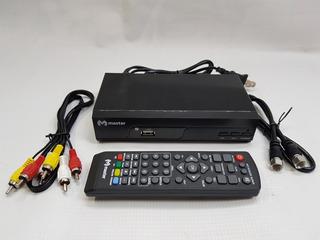 Decodificador Conventidor Sintonizador Digital Tdt Master Tv