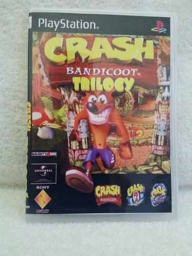 Crash Bandicoot Trilogy Para Playstation 1 - Patch