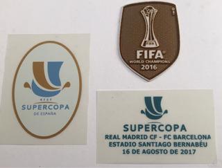 Set De Parches Súper Copa De España 2017 Fifa 2016 Madrid