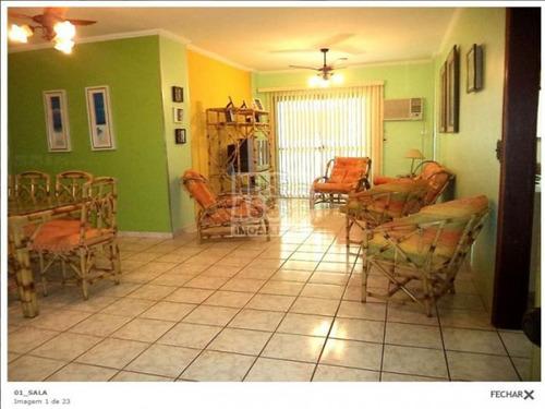 Imagem 1 de 20 de Apartamento Para Venda No Bairro Canto Do Forte, 2 Dorm, 1 Suíte, 1 Vagas, 112 M - 1214