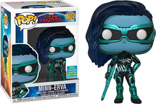 Funko Pop Capitana Marvel Minn-erva 487 Figoriginal Edu Full