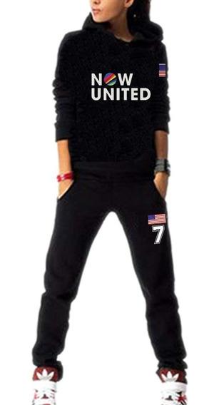 Conjunto Now United Frente Costa Países Escolha Integrante