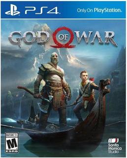 God Of War 4 Playstation 4 Ps4