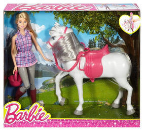 Para Y Barbie Juguete P Su Xtreme Niña Caballo BQdxoEWrCe