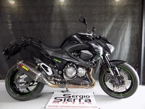 Kawasaki Z800 Negra 2014