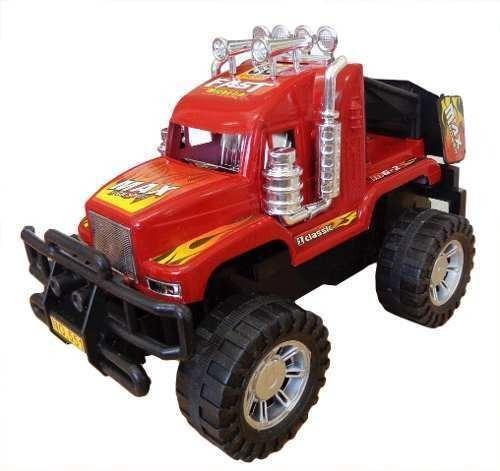 Camion Monster A Friccion Juguetes Niños 22cm