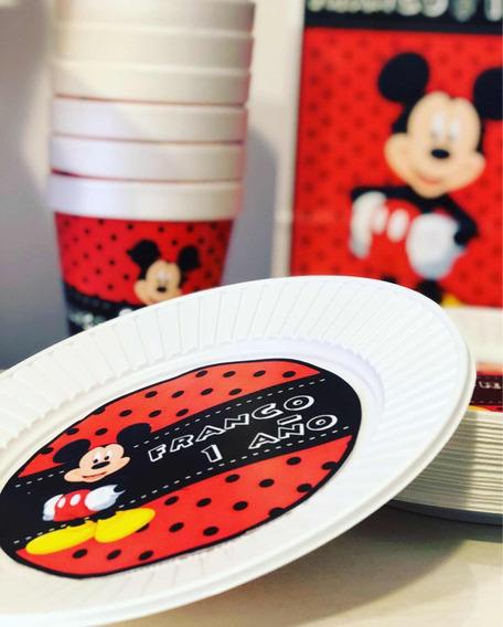 Cotillón Intantil Partybox X 10 Mickey Minnie Personalizado