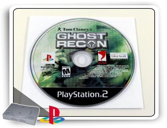 Tom Clancys Ghost Recon Original Playstation 2 Ps2