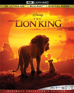 4k Ultra Hd + Blu-ray The Lion King / El Rey Leon (2019)