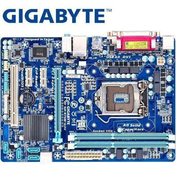 Gigabyte Ga-b75m-d3v Soquete Lga 1155 I3 I5 I7 Motherboard D