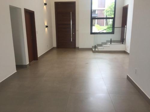 Casa Com 3 Dormitórios À Venda, 260 M² Por R$ 1.750.000 - Alphaville Nova Esplanada I - Votorantim/sp, Próximo Ao Shopping Iguatemi. - Ca0033 - 67640023