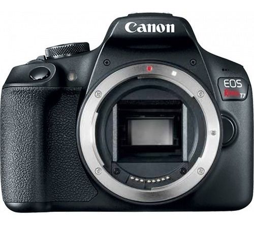 Câmera Canon Eos Rebel T7 ( Corpo) 12x S/juros