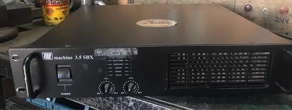 Amplificador De Potência Machine 3.5 Sbx