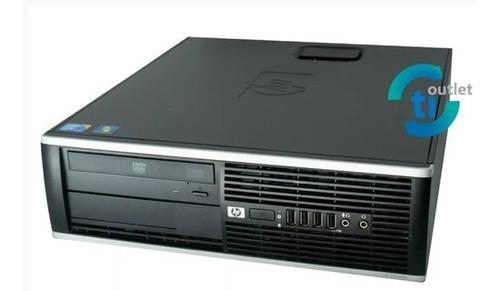 Cpu Computador Pc I5 Hp Compaq 8100 4gb Windows 7