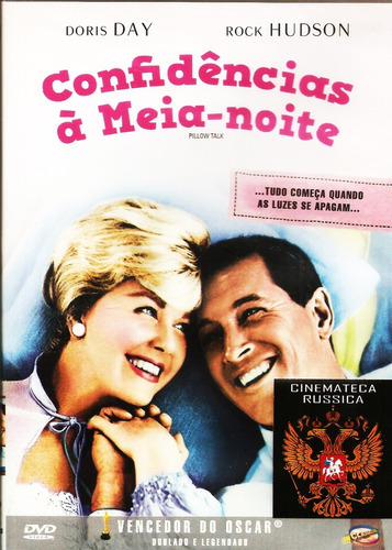 Dvd Confidências À Meia Noite, Doris Day Rock Hudson  1959 +