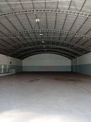 Barracão Para Alugar, 1300 M² Por R$ 12.000,00/mês - Vila Brunhari - Bauru/sp - Ba0120