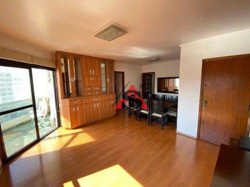 Imagem 1 de 19 de Apartamento Com 3 Dormitórios À Venda, 110 M² Por R$ 690.000,00 - Vila Gumercindo - São Paulo/sp - Ap43932