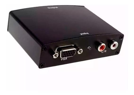Conversor Vga A Hdmi Tv/pc Full Hd1080