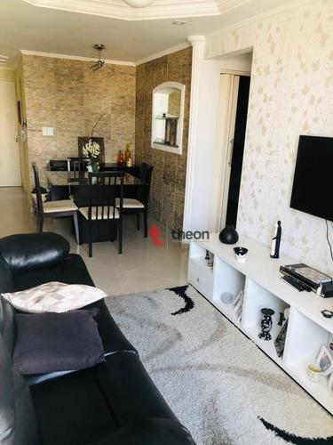 Imagem 1 de 21 de Apartamento Com 3 Dormitórios Para Alugar, 66 M² Por R$ 2.800,00/mês - Chácara Santo Antônio (zona Leste) - São Paulo/sp - Ap0016