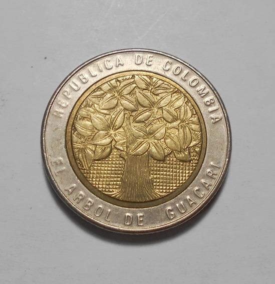 Colombia 500 Pesos 2005 - Arbol De Guacarí - Km#286