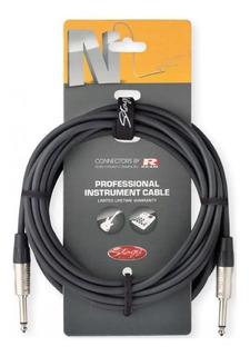 Cable Plug-plug Profesional Standard 6mm. - 6 Mts. Stagg Ngc