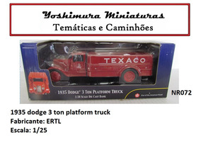1935 Dodge 3 Ton Platform Truck Ertl 1/32