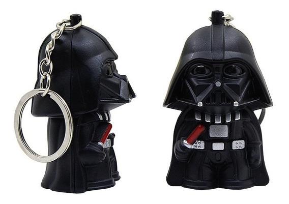 Darth Vader Llavero Con Luz Y Sonido Star Wars Buena Calidad