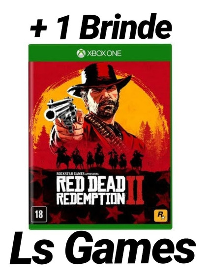 Red Dead Redemption 2 Midia Digital Xbox One + Brinde