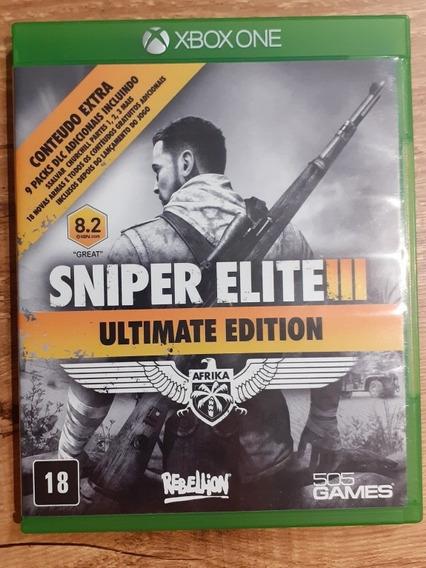 Sniper Elite 3 Ultimate Xbox One Mídia Fisica