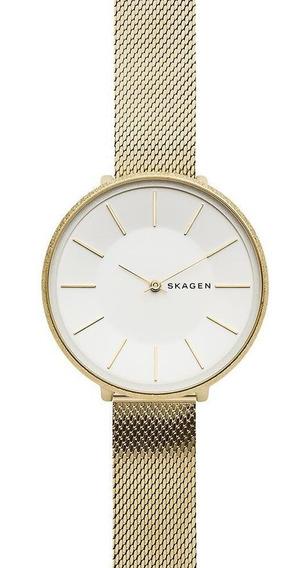 Relógio Feminino Skagen Karolina Dourado - Original