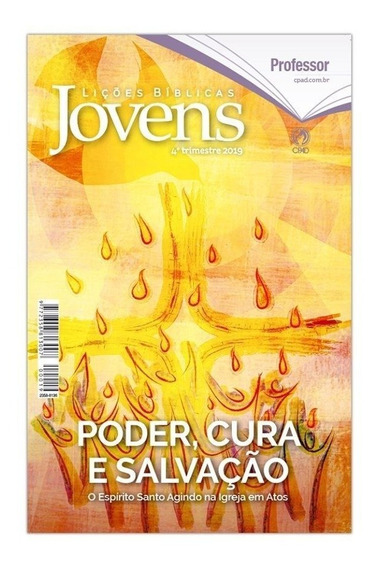 Kit Revistas Jovens 4° Tr 2019 5 Alunos + 1 Mestre Capa Dura