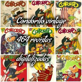 Condorito Vintage Antiguas Revistas