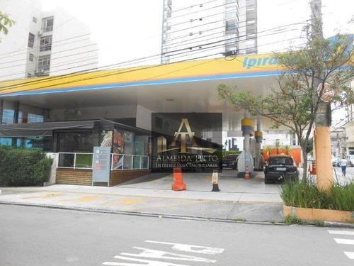 Terreno  À Venda Com Vocação Para Posto De Gasolina, Farmácias E Lojas  Na Barra Funda/sp - Confira! - Te0483