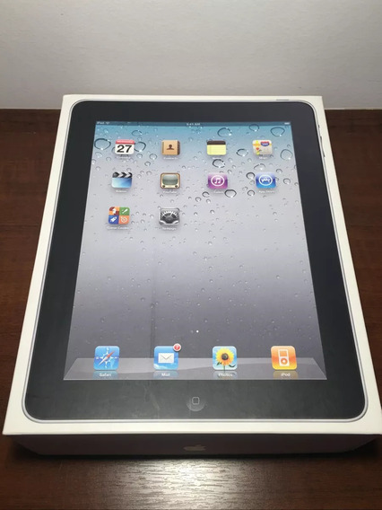 iPad 1 Apple 16gb, 3g Wifi A1337 Prata