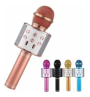 Microfono Parlante Recargable Bluetooth Ws858