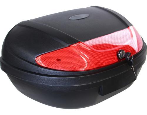 Caja Motocicleta Top Case Maletero 53 Litros 2 Cascos