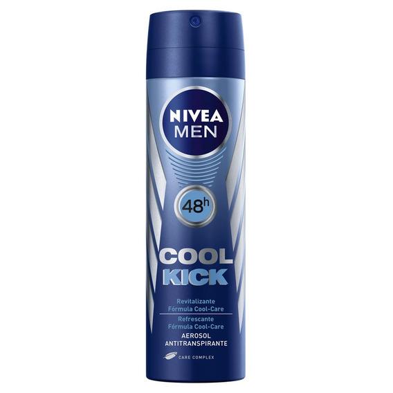Desodorante Nivea For Men Cool Kick 48h Aerosol 150ml
