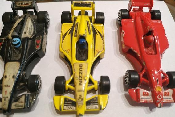Set Autos F1 Hot Wheels 1:35