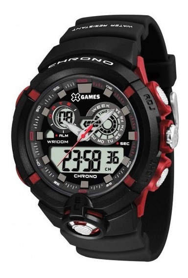 Relógio Xgames Xmppa239 Bxpx Masculino Preto - Refinado