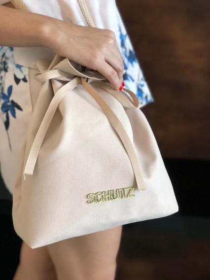 Bolsa Saco Bag Schutz Tecido+cheirinho+brinde Hoje Saldao