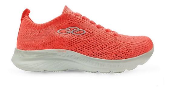 Tenis Olympikus Ultraleve 130g Feminino Coral - Original