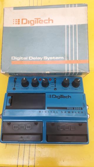 Pedal Digitech Digital Sampler Pds2000 Made In Usa Ano 1985