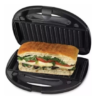 Sandwichera Tostadora Electrica Panini Winco W-018 Balvanera