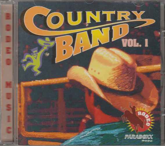 Cd Country Band Vol 1- 1996 - Paradoxx