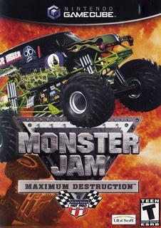 Monster Jam Maximum Destruction Gamecube Gc Wii +envio Free