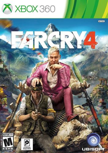 Far Cry 4 Español - Xbox 360 - Vgm