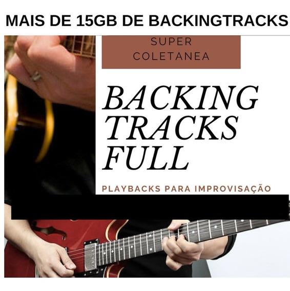 Playbacks Backtrack Guitarra - Guitar Backingtrack 15gb Jam
