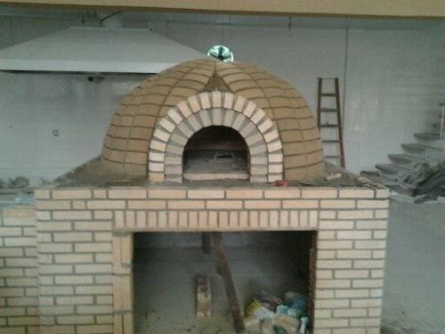 Forno De Pizzaria , Forno A Lenha, Forno Iglu De Tijolo